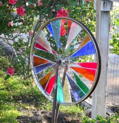 Upcycled Garden Spinner