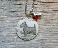 Scotch Terrier Scottie Dog Pet - Altered Vintage Glass Watch… http://www.pinterest.com/pin/228557749812741286/