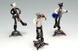 Glass cats http://www.pinterest.com/pin/415034921879895882/