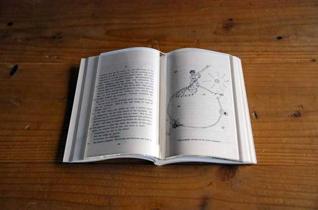 Glass Book Page Holder, OddityMall.com